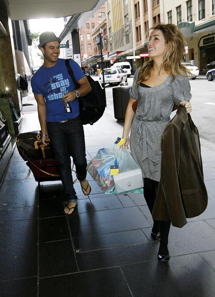 The couple were papped on the street in Sydney just after their wedding.