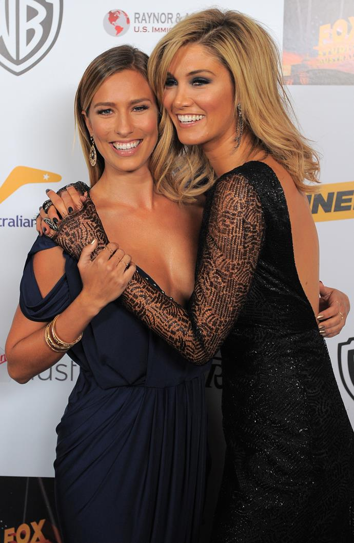 With killer matching fake tans at the Annual Australians in Film Awards Gala in Beverly Hills in 2013.