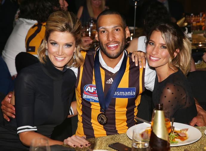 "When Renee was [dating AFL star Josh Gibson](https://www.nowtolove.com.au/celebrity/celeb-news/renee-bargh-boyfriend-63985|target=""_blank"") back in 2014, Delta accompanied her bestie to the an AFL Grand Final function in Melbourne."