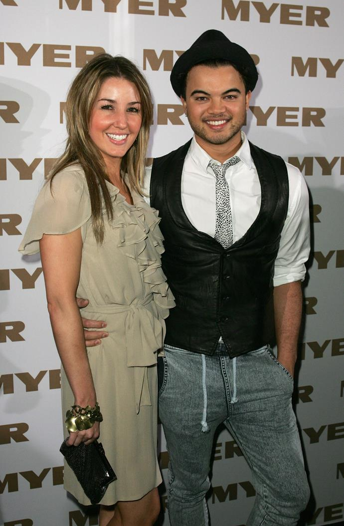 It seems the pair were a regular front row fixture at fashion shows back in the day. They're pictured here at the Myer show in 2008.