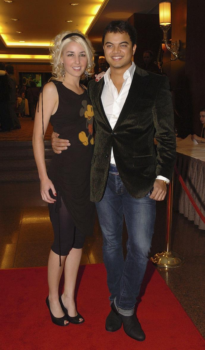 Strolling along the red carpet at the 2006 APRA Music Awards.