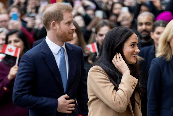 Prince Harry and Meghan have plenty to be getting on with as they settle into their new home in LA.