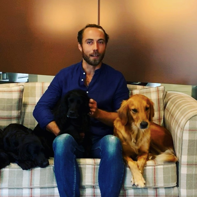 James Middleton has launched something that ties together two things he is hugely passionate about.