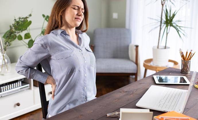 The longer you work from home, you may be noticing your body getting used to the lack of activity.