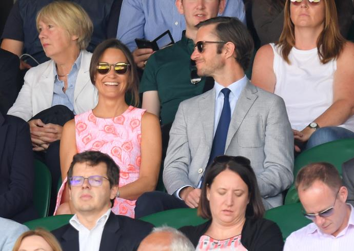 The answer, was a resounding *yes*. Pippa and James' relationship became common knowledge in 2016, especially as things moved extremely quickly between the pair. It was reported they moved in together in May, with James later popping the question to Pippa later that year.