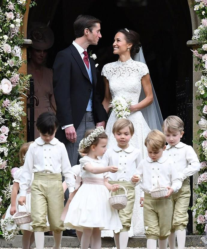 A fairytale indeed! Pippa and James' nuptials was the ultimate happily ever after.