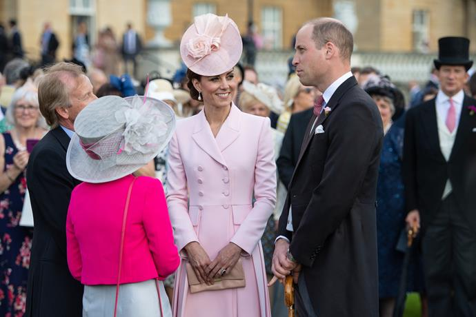 In 2019, Duchess Catherine and Prince William made an iconic joint appearance, with the royal mum wearing a chic pink ensemble by Alexander McQueen complete with a classic Juliette Botterill hat.
