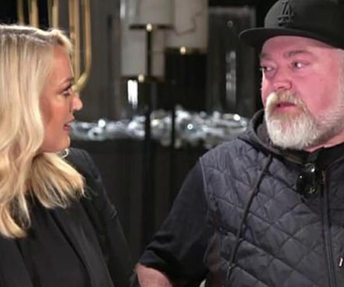 Health confession: The shock jock was moved to tears as he spoke about the illness.