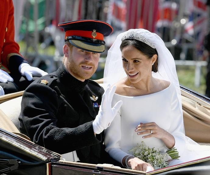 Meghan and Harry reportedly spent their second wedding anniversary at home with their son, reflecting on everything that has happened since they tied the knot.
