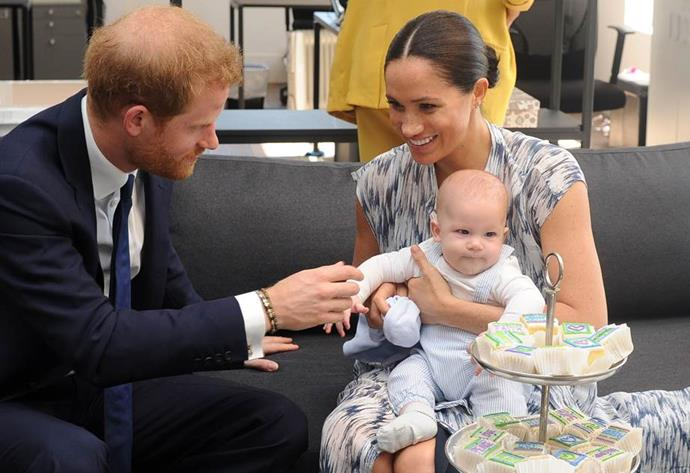 Prince Harry and Duchess Meghan have relocated from London to LA with their young son Archie.