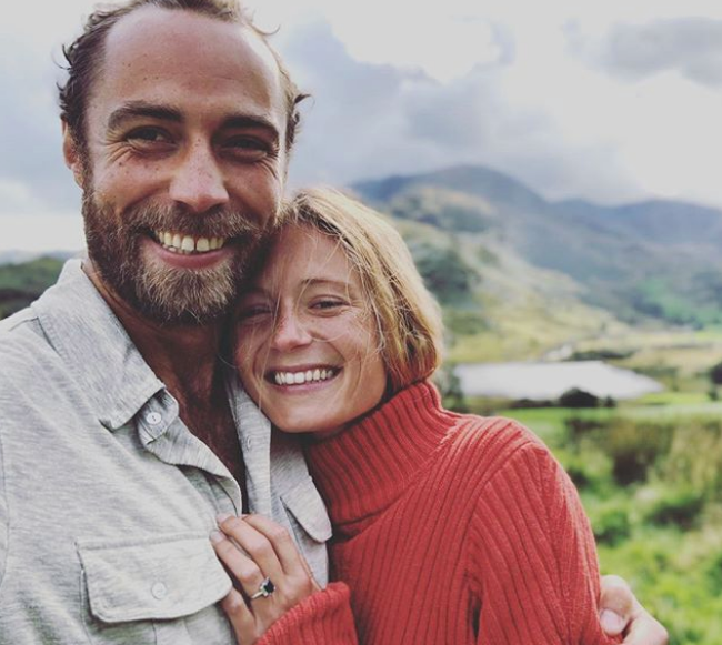 "In October 2019, fans were greeted with the update we'd hoped for, but daren't have expected to hear so soon - the pair [were engaged](https://www.nowtolove.com.au/royals/british-royal-family/james-middleton-engaged-59608|target=""_blank""). ""❤️She said OUI ❤️"" Wrote the smitten 33-year-old."
