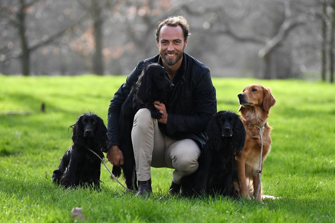 Let's start back at the beginning - pre their first 2018 encounter. James Middleton was living a low-key life, and had one, very important passion - his dogs. In fact, James later admitted that his dogs, particularly his long-time furry companion, Ella, helped him through dark times as he struggled with mental health issues.