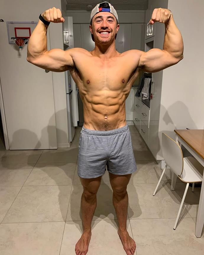 Kelly and Renee's Sydney-based PT Brock Ashby. We can see the appeal!