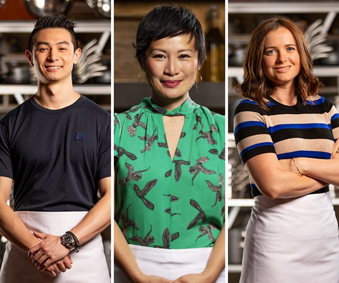From L-R: *MasterChef* favourites Reynold Poernomo, Poh Ling Yeow and Emilia Jackson.