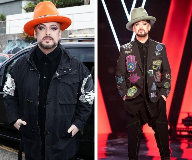 Boy George has lost a whopping 30kg!