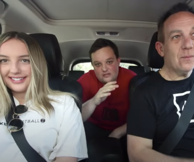 """**Kieran**<br><br>  21-year-old Kieran (centre) is a videographer from Adelaide, South Australia but he says you may know him better as """"Adelaide's worst driver.""""  <br><br> Kieran has a YouTube channel dedicated to hilarious videos of his terrible driving often putting his family in the passenger seats.  <br><br> """"I'm like the grim reaper, they're [the housemates] going to go down like a sack of potatoes,"""" Kieran says."""