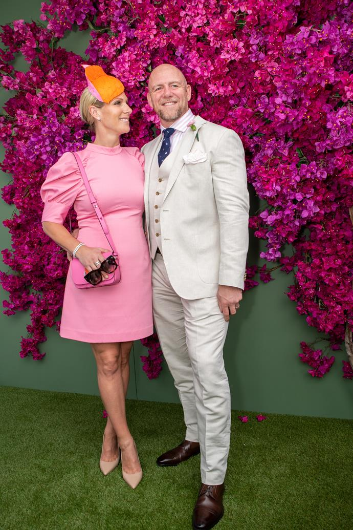 Attending the land Down Under calls for a pop of colour. Zara and Mike upped the fashion stakes at the Gold Coast's 2020 Magic Millions Raceday in January 2020.