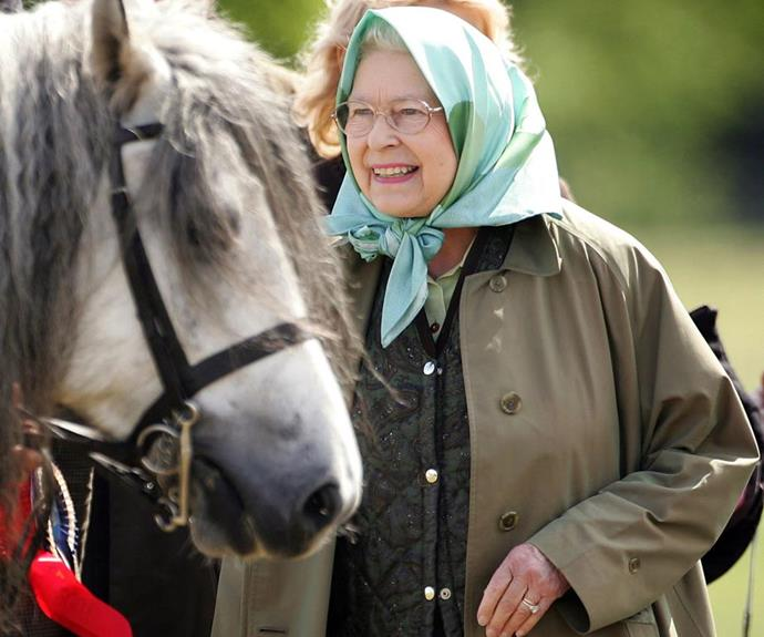 The Queen is keeping fit and active with daily horse rides.