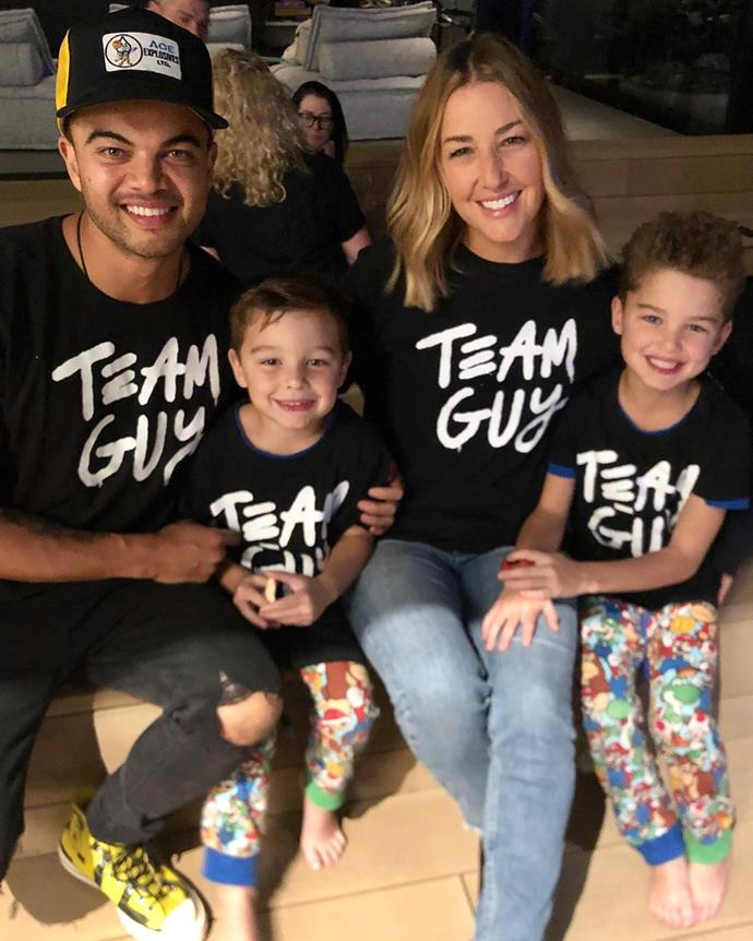 The Sebastian clan are #TeamGuy all the way!