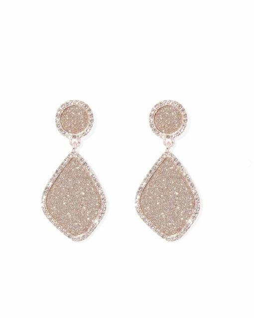 """Or you can make a statement in that Zoom call with these beautiful pink-gold drop earrings from Forever New. $19.99, [buy them online here](https://www.forevernew.com.au/264044-264044?colour=pink