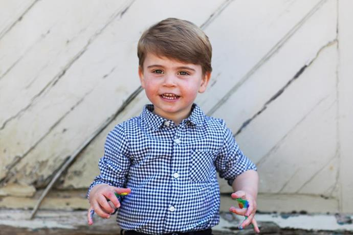The Queen's sixth grandchild, the Prince of Cambridge.