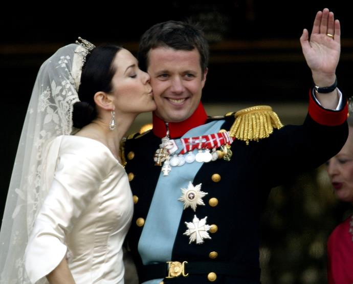 The handsome Prince and the stunning Princess were a match made in heaven. Denmark really did do well with these two!