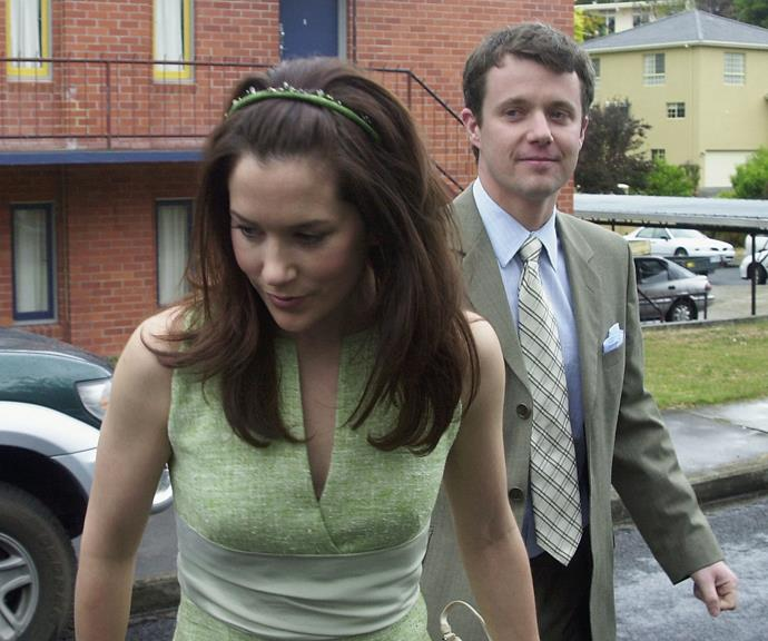 Shortly before their own nuptials in 2004, the pair were pictured together attending Mary's sister Patricia's wedding.