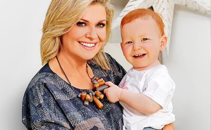 """Her little summer babe! Inside Home And Away star Emily Symons' beautiful bond with her """"miracle"""" son Henry"""