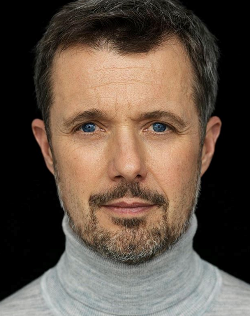 In 2020, the Danish Palace shared this striking image of Frederik for his 52nd birthday on May 26. All we can add is simple: Long live the turtle neck.