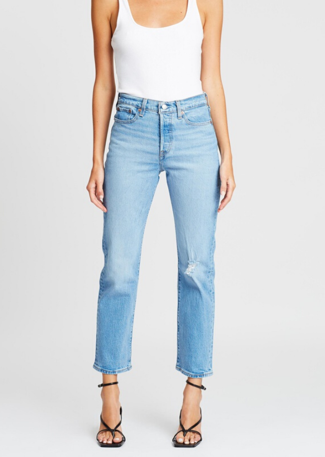 """Levi's Wedgie Straight Jeans, $139.95. [Buy online from The Iconic here](https://www.theiconic.com.au/wedgie-straight-jeans-1063672.html