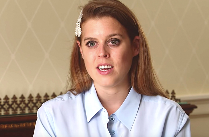 Princess Beatrice has opened up about her difficult experience with dyslexia in a rare new clip.