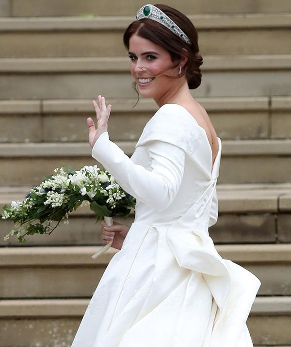 Princess Eugenie's wedding dress was famous for showing off a part of Eugenie she so heavily identifies with.