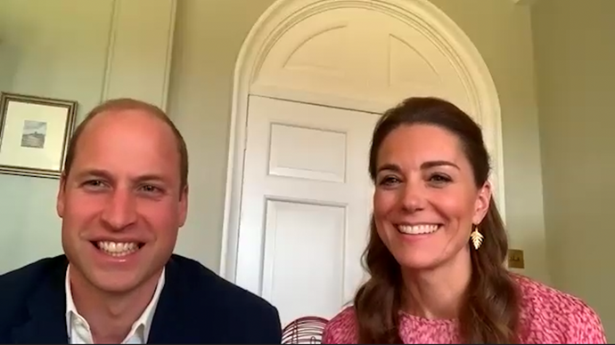 "In an unexpected video released in May, Kate and husband Prince William surprised residents of a care home with [a game of bingo](https://www.nowtolove.com.au/royals/british-royal-family/kate-middleton-prince-william-bingo-video-call-64022|target=""_blank""). We weren't *quite* sure what we found more captivating, the game itself, or the Duchess' glorious L.K. Bennet dress."