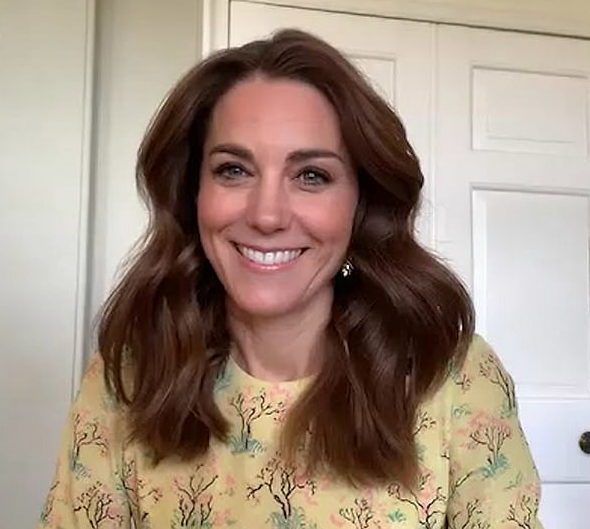 "Launching her special new initiative Hold Still, the Duchess [dialled into British breakfast program *This Morning*](https://www.nowtolove.com.au/royals/british-royal-family/kate-middleton-this-morning-63863|target=""_blank"") in a gorgeous Raey dress that turned heads for obvious reasons. So chic!"
