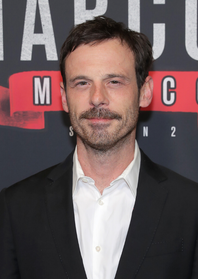 **SCOTT McNAIRY: Bradley** <br><br> Bradley is Darby's boss - he runs the company responsible for her ridiculous job. McNair has had starring roles in Quentin Tarantino's *Once Upon A Time In Hollywood* and *Halt and Catch Fire*, the critically acclaimed show about feuding tech companies in the 80's.