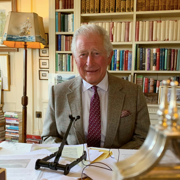 Charles and Camilla have continued to work from their home offices.