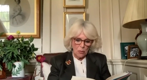Camilla took part in a dramatic reading of *James and the Giant Peach* - and she pulled it off!