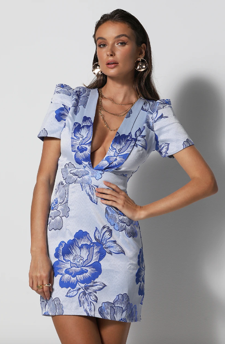 Or if you're after the plunging structured silhouette, this Runaway The Label dress is perfect for weddings, races, summertime soirees.... you name it!