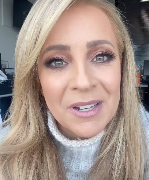 Carrie shared the happy news with her following after a tough few months.