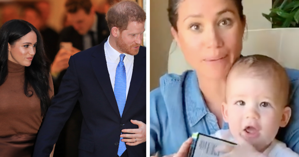 Duchess Meghan & Prince Harry were all set to fly back to the UK this week... then everything changed