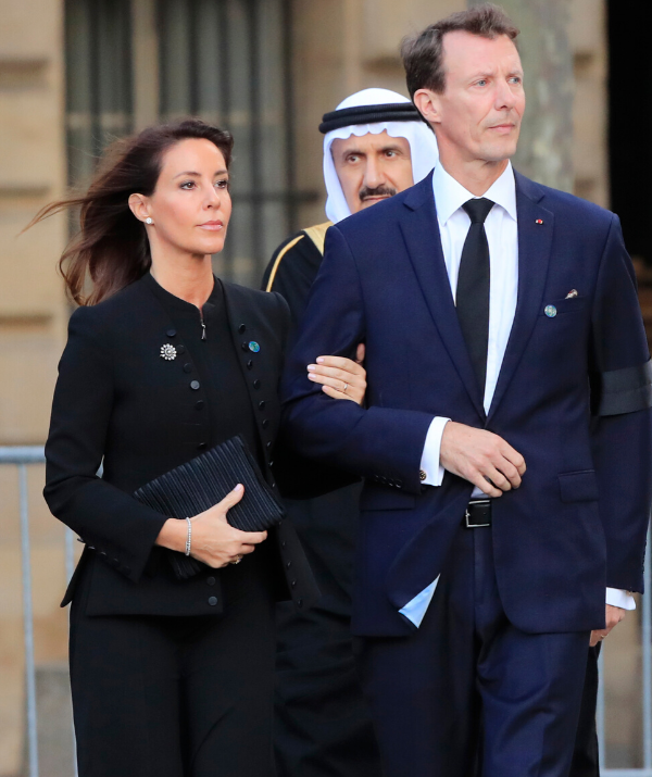 "After completing military training in Paris, Joachim, 50, (pictured with wife Princess Marie) is ""keeping his future options open"", and there are real fears among insiders within Amalienborg Palace that he will ""cut his ties"" with the royal family."