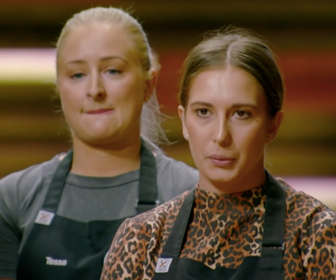 There's tension on set as things get heated between the *MasterChef* contestants.