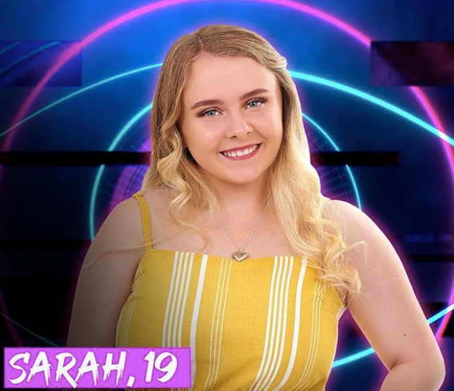 **Sarah** <br><br> The youngest of the lot, don't be fooled by Sarah's ability to make a *big* impression. She's had a tough up-bringing and says this has given her the ability to turn a negative into a positive. We can't wait to see more!