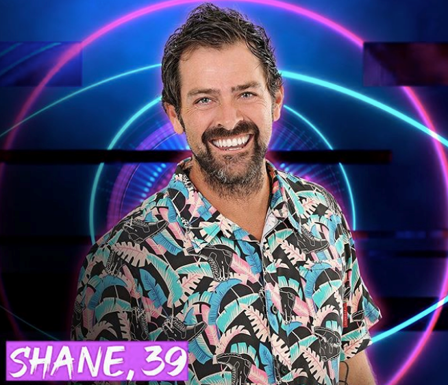 **Shane** <br><br> 39-year-old Shane has quite the colourful job history - he has worked as a DJ, MC and cabin crew and is now a wedding celebrant, having officiated at the first female same sex wedding in Australia. He also hopes age will give him an advantage in the game!