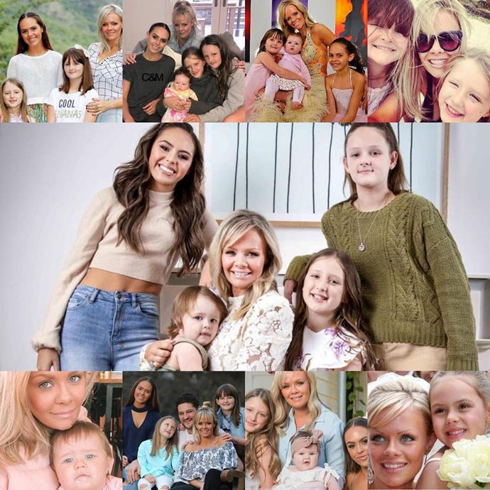 "On Mother's Day this year, Fev posted this gorgeous collage of his girls in honour of his wife, alongside this beautiful message: ""When it comes to Mums, my girls really did hit the jackpot. Our kids couldn't be loved more and have someone to look up to more then you. You are the strongest woman (person) I know and our girls are so lucky they get to learn from the best. Love you Snooks happy Mother's Day ❤️❤️❤️."""