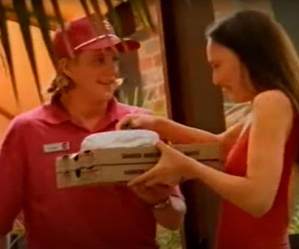 Joking with the Pizza Hut guy was so popular.