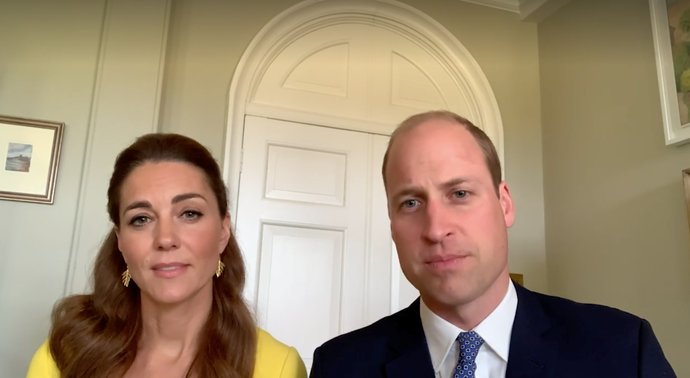 The Duke and Duchess subtly mirrored a trip they had to the very country the spoke of six years ago.