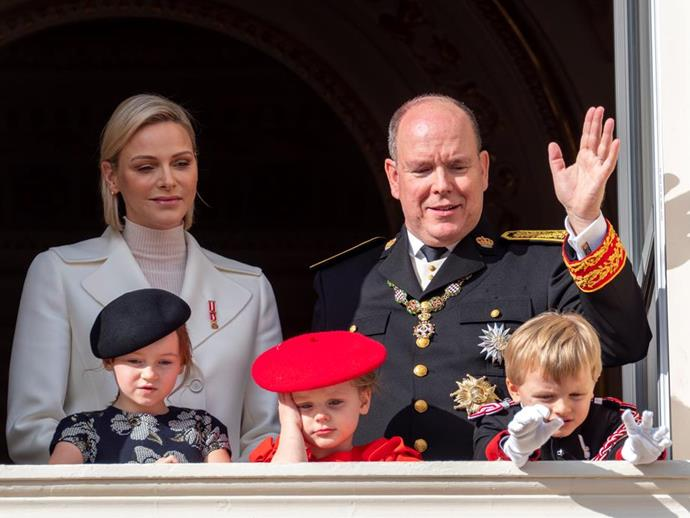 Charlene is known for her fashion prowess in royal circles.