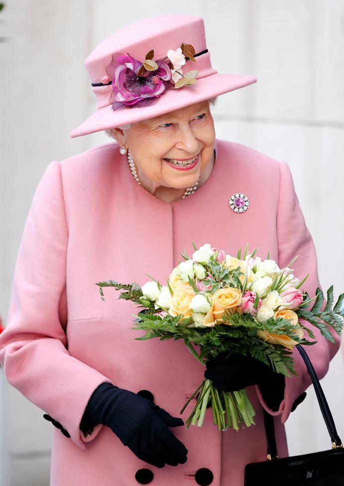 The Queen is an avid horse racing fan.