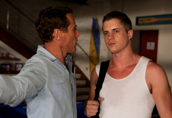 **Johnny Ruffo - Home and Away** <br><br> Johnny Ruffo fast became Summer Bay's resident loveable larrikin when he broke onto the screen as Chris Harrington in 2013. Three years later, he bid goodbye to the Bay - but not to TV altogether...